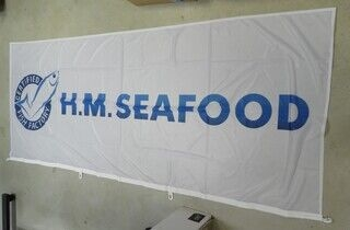 Logolipp - H.M Seafood