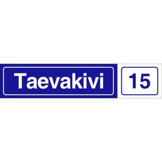 Aadressi silt - Taevakivi 15