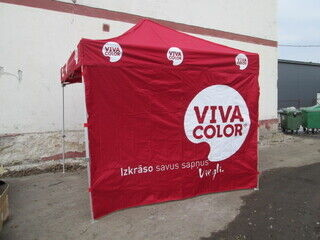 3x3 Pop-up telta Viva color