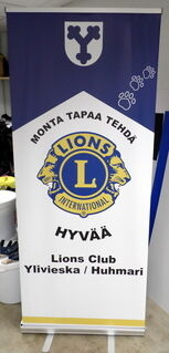 Klassinen Roll-Up Lions Club Ylivieska Huhmari
