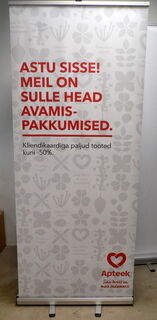 Roll-Up Südame Apteek