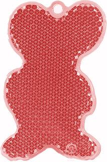 Helkur hiir 43x68mm punane