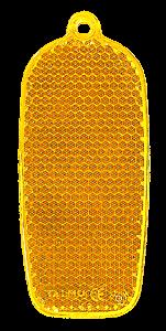 Helkur telefon 32x78mm oranž